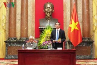 Toàn văn bài phát biểu của Chủ tịch nước với các nhà khoa học quốc tế