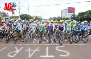 Chặng 2, Giải xe đạp nữ toàn quốc mở rộng, Nguyễn  Thị Thật đoạt chiến thắng kép
