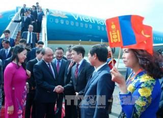 Thủ tướng Nguyễn Xuân Phúc tới Thủ đô Ulan Bator, Mông Cổ