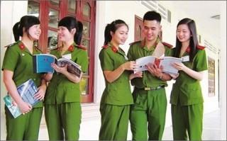 Dự kiến điểm chuẩn và điều kiện xét lý lịch vào các trường công an