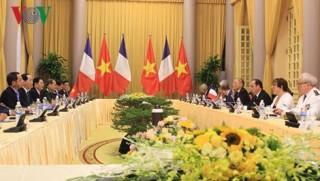 Việt Nam và Pháp nhất trí thúc đẩy hợp tác quốc phòng