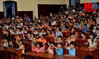 Tổ chức Trung thu cho trẻ em có hoàn cảnh đặc biệt khó khăn huyện Châu Phú