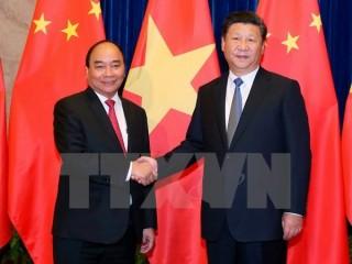 Truyền thông Trung Quốc đưa tin đậm nét về chuyến thăm của Thủ tướng