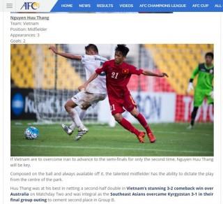 Hữu Thắng lọt tốp 8 gương mặt đáng xem nhất VCK U16 Châu Á