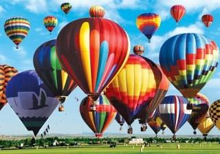 Rực rỡ sắc màu trong lễ hội khinh khí cầu quốc tế lần thứ 45