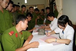 Mức đóng BHYT đối với sĩ quan, chiến sĩ CAND