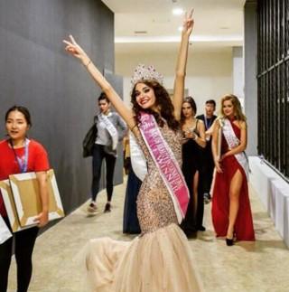 Cô gái Nga đăng quang Hoa hậu có gương mặt đẹp nhất thế giới
