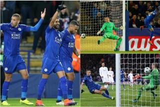 Leicester City thiết lập kỷ lục mới tại Champions League