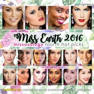 Nam Em có mặt trong top 20 Hoa hậu Trái Đất 2016 do Missosology bình chọn