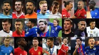 FIFA công bố danh sách đề cử Cầu thủ xuất sắc nhất thế giới