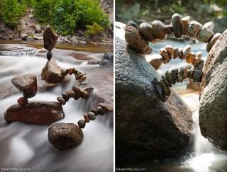 """Người nghệ sĩ kỳ diệu khiến những hòn đá cũng biết… """"thiền"""""""
