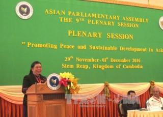 Phó Chủ tịch Quốc hội Việt Nam có tham luận quan trọng tại APA-9
