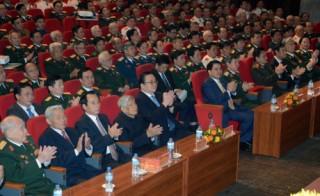 Gặp mặt các tướng lĩnh nhân kỷ niệm 70 năm Toàn quốc kháng chiến