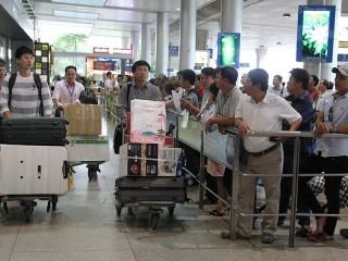 Hạn chế người đưa đón để giảm kẹt sân bay