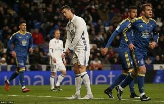 Real Madrid thua sốc trước Celta Vigo ngay trên sân Bernabeu