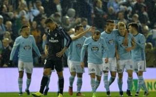 Danilo phản lưới, Real bị Celta Vigo loại khỏi Cúp nhà Vua