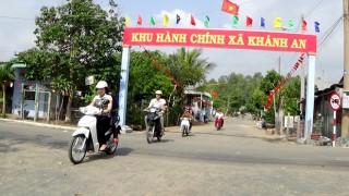 Khánh An được công nhận xã nông thôn mới