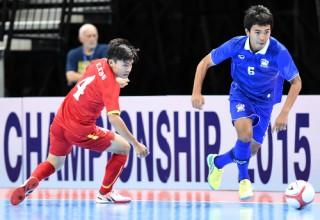 Việt Nam chung bảng Thái Lan tại giải futsal Đông Nam Á 2017