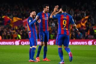 Barcelona đại thắng, qua mặt Real Madrid ở La Liga
