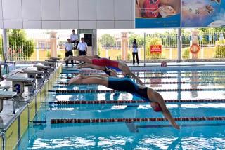 Bơi lội An Giang từng bước vươn xa