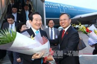 Chủ tịch Quốc hội Hàn Quốc kết thúc chuyến thăm chính thức Việt Nam