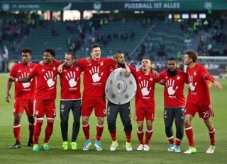 Hủy diệt Wolfsburg, Bayern Munich vô địch Bundesliga lần thứ 5 liên tiếp
