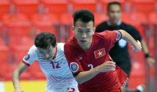 Giải futsal U.20 châu Á 2017: Việt Nam hiên ngang hạ Tajikistan