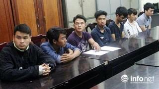 Đà Nẵng: Bắt 8 đối tượng ném đá làm hư hại 12 xe ô tô đậu trên đường