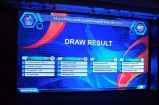 Thái Sơn Nam quyết đổi màu tấm huy chương giải Futsal châu Á