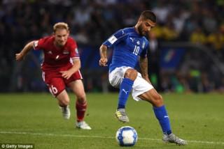 """Andrea Belotti tỏa sáng, Italia thắng """"5 sao"""" trước Liechtenstein"""