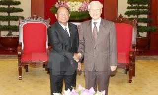 Tổng Bí thư: Việt Nam luôn đặc biệt coi trọng quan hệ với Campuchia