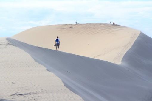 """Có một """"tiểu sa mạc Sahara"""" ở Bình Thuận"""