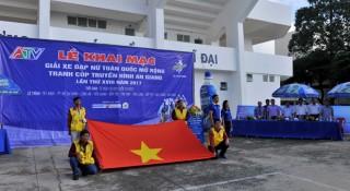 54 tay đua nữ tranh cúp Truyền hình An Giang