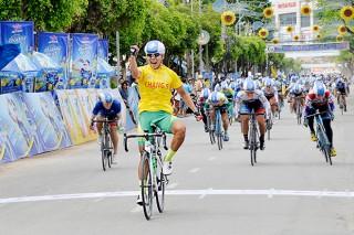 Xe đạp nữ An Giang khẳng định sức mạnh