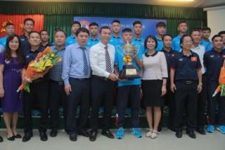 U15 Việt Nam được thưởng lớn sau chức vô địch giải U15 Đông Nam Á 2017