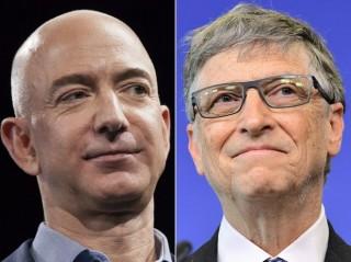 Bill Gates giành lại ngôi giàu nhất từ tay Jeff Bezos chỉ sau 24 giờ
