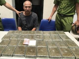 Phá đường dây vận chuyển ma túy cực lớn từ biên giới về Hải Phòng