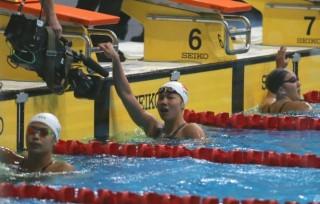Ánh Viên vào chung kết 50m ngửa và 200m ếch