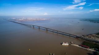 Sáng nay chính thức thông xe cầu vượt biển dài nhất Việt Nam