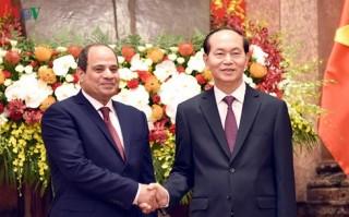 Toàn văn Thông cáo chung Việt Nam - Ai Cập