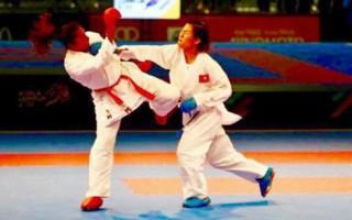 Nữ võ sĩ Việt Nam giành HCV lịch sử ở giải karatedo thế giới