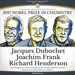 Nobel Hóa học 2017 trao cho kính hiển vi điện tử nghiệm lạnh