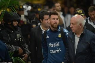 """An ninh thắt chặt khi tuyển Argentina đến Ecuador đá trận """"sinh tử"""""""