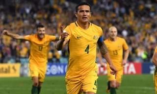 Tim Cahill lập cú đúp, Australia đoạt vé play-off World Cup