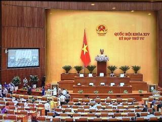 Quốc hội phê chuẩn miễn nhiệm Tổng Thanh tra và Bộ trưởng Giao thông - Vận tải