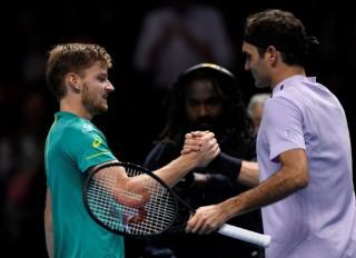 Đánh bại Federer, Goffin gặp Dimitrov ở chung kết ATP Finals