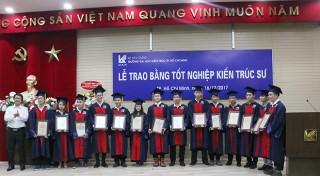 Tập đoàn Sao Mai trao học bổng cho sinh viên Trường Đại học Kiến trúc TP. HCM
