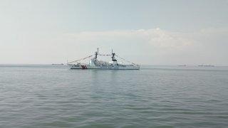 Cận cảnh tàu Cảnh sát biển lớn nhất Việt Nam vừa cập cảng Vũng Tàu