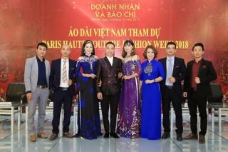 Áo dài Việt tăng hạng trên bản đồ thời trang