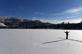 Bắc Mỹ rét tới -40 độ C, bão tuyết phủ trắng vùng